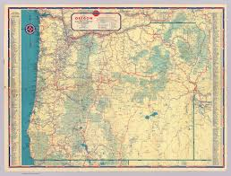 Highway Map Of Oregon by Western States Road Map David Rumsey Historical Map Collection