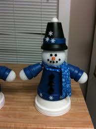 clay pot snowman my crafts pinterest snowman clay and terra