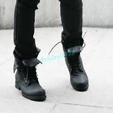 s boots style retro lace up winter style ankle boots army combat