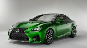 lexus green lexus rc f colored cars