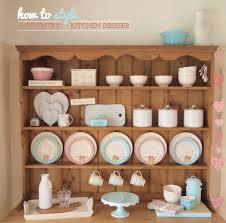 kitchen dresser ideas how to style a country kitchen dresser bright bazaar by will