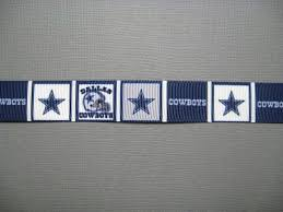 3 grosgrain ribbon 73 best dallas cowboys nfl ribbons images on dallas