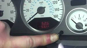 how to reset service light indicator on a 2001 vauxhall astra