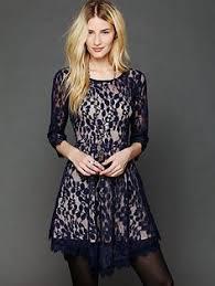 zhenya katava fp saylor jessa foil lace dress capri fp