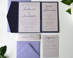 Lavender Wedding Invitations Lavender Wedding Invitations