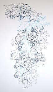 rose u0026 ivy pattern tattoo illustration news events general