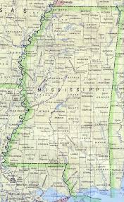 Map Of Baton Rouge Detailed Map Of Mississippi State Mississippi State Detailed Map