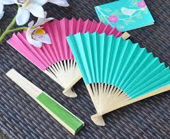 held paper fans paper folding fans wedding fans 62 discount favors
