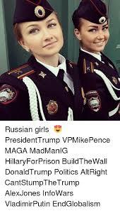 Russian Girl Meme - k nonhuma mtre russian girls ロシア usa presidenttrump vpmikepence
