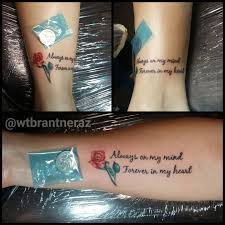 tommybrantner always and forever mother daughter matching tattoos