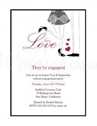 Wedding Announcement Templates Printable True Love Engagement Party Invitations Template