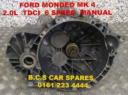 ford mondeo mk 4 gearbox manual 6 speed 37k miles 6 mths warranty