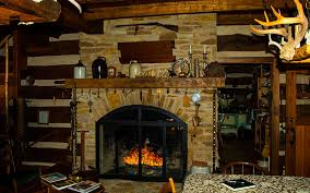 Bed And Breakfast Fireplace by Ohio Log House Bed And Breakfast Gallery