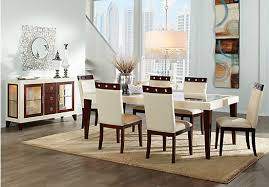 Dining Room Collection Furniture Sofia Vergara Savona Ivory 5 Pc Rectangle Dining Room Dining