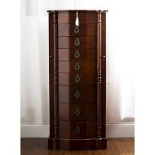 brown jewelry armoire robyn jewelry armoire brown hives honey target