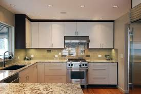 Modern Kitchen With Slab Cabinet Doors By Jason Ball Interiors - Slab kitchen cabinet doors