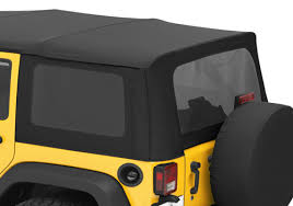 2000 jeep wrangler top replacement bestop jeep wrangler 3 pc replacement tinted top window kit