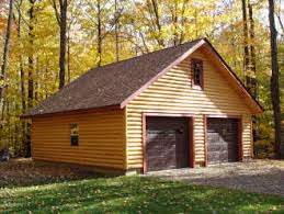 round garage plans log siding from discount log home supplies discount log home
