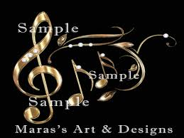 Music Note Decor Second Life Marketplace Music Notes Decor Full Perm