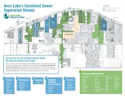 Crestwood Map Separating Avon Lake U0027s Combined Sewers Avonlakewater Org