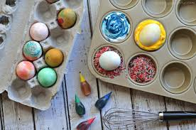3 ways to dye easter eggs with toddlers a crafty spoonful