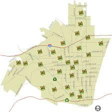 map of pomona california city of pomona park directory