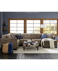 Living Room Furniture At Macy S Radley Fabric Sectional Living Room Furniture Sets Pieces