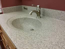 Solid Surface Bathroom Vanity Tops Charming Solid Surface Custom Bathroom Countertops In Grey