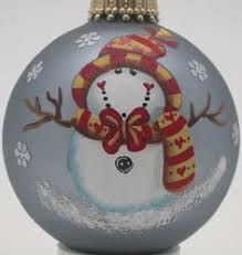 painted ornament by kari painted