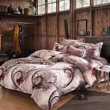 upscale luxury king size bedding sets best fabric of luxury king