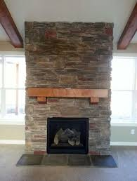 interior astounding stone veneer fireplace remodel ideas with