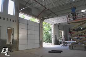 Installing Overhead Garage Door Commercial Photo Gallery Dc Garage Services