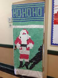 Christmas Door Decoration Contest Phil Mont Christian Academy