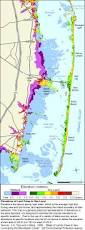 New Jersey Map More Sea Level Rise Maps For New Jersey