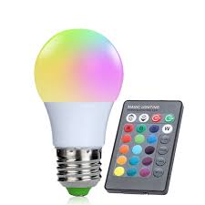 color changing light bulb with remote color changing light remote control led bulb oneshopexpress com