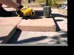 Brick Patio Diy by How To Build A Brick Patio Youtube