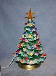 pink ceramic christmas tree love christmas dreams pinterest