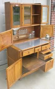 Antique Kitchen Cabinet With Flour Bin Early Oak Hoosier Style Boone Cabinet With Flour Bin Glass Doors
