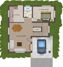 row home floor plans south facing villa floor plans gallery also 2 bhk house plan