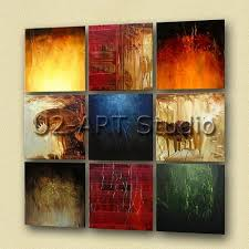 abstract group oil painting wall decoration oil paintings for