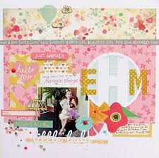 monogrammed scrapbook ideas for embellishing scrapbook pages with monograms