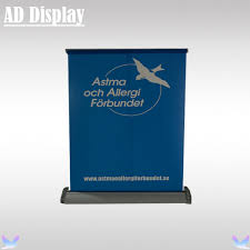 table top banners for trade shows wholesale 50pcs a3 size desktop mini aluminum single side roll up