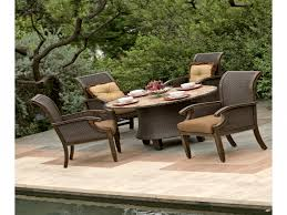 Patio Height Dining Set - high dining patio furniture roselawnlutheran