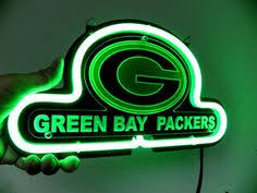 green bay packers lights green bay packers packers sign lambeau field sign by signupnow