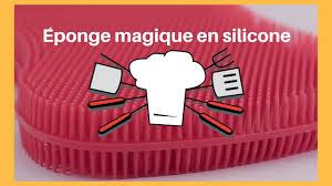 silicone cuisine éponge magique en silicone test éponge antibacterienne