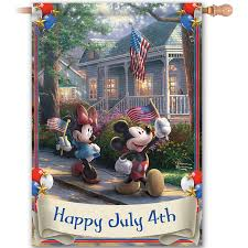 Mickey Mouse Flag Disney Discovery Mickey Mouse July 4th Flag