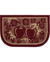 Apple Kitchen Rug Sets Now Christmas Gift Sales On Apple Rugs For Kitchen