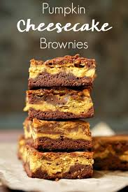 best pumpkin cheesecake brownies recipe for thanksgiving or anytime