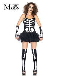 online get cheap white skeleton costume aliexpress com alibaba