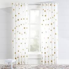 Yellow Nursery Curtains Curtains Hardware Bedroom Nursery Crate And Barrel